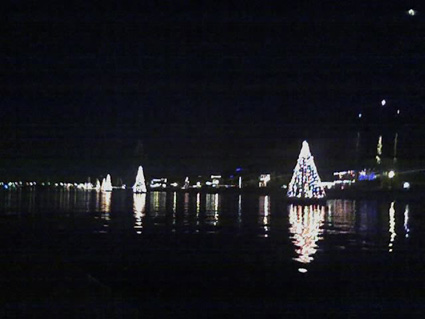 Christmas lights in Naples, Long Beach