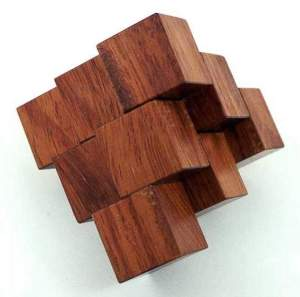 Stewart Coffin 3-Piece Pyramid Puzzle