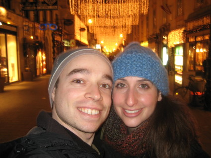 Francine and Evan in Vienna