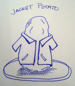 Britishism: Jacket Potato