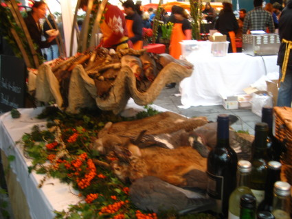 Dead Animals at Spitalfields Market