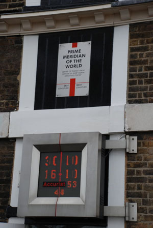 Prime Meridian at the Royal Observatory