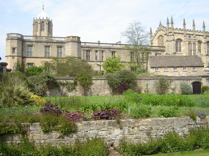 Christ Church college gardens