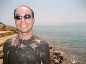 Evan by the Dead Sea