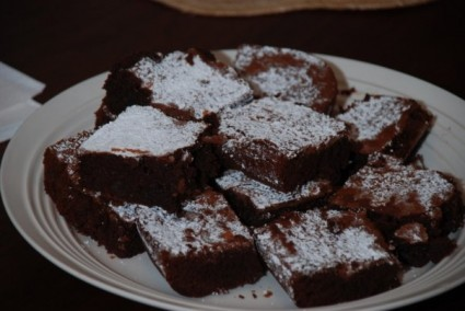 These are the brownies Maryn made, but mine looked pretty similar!