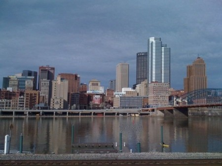 One of Evan's first pictures of Pittsburgh