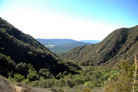One of the views from our hike