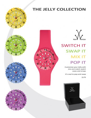 Jelly Watch Sell Sheet - Illustration