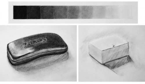 Black and White Drawing Study